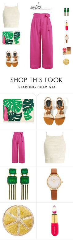 """""""Smile"""" by mariagraziatrotta ❤ liked on Polyvore featuring SHE MADE ME, Sylva & Cie, Olivia Burton, Winky Lux and Dsquared2"""