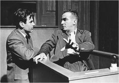 Judgement at Nuremberg 1961 - Maximilian Schell and Montgomery Clift Judgment At Nuremberg, Maximilian Schell, Old Hollywood Actors, Classic Hollywood, James Dean Photos, Montgomery Clift, Marlene Dietrich, Great Films, Yesterday And Today