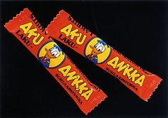 Pupuleipomo: Kaupoista kadonneet herkut Vintage Sweets, Vintage Candy, Retro Vintage, Good Old Times, Candy Shop, Finland, Nostalgia, Memories, Product Design