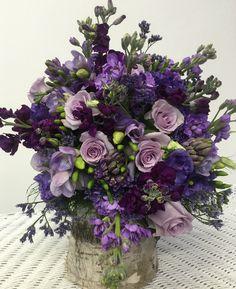 Shades of purple Bridal Bouquet Shades Of Purple, Special Events, Floral Arrangements, Beautiful Flowers, Floral Wreath, Bouquet, Wedding Ideas, Wreaths, Bridal