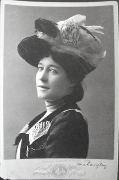 Lillie Langtry.