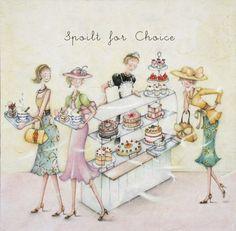 Cards » Spoilt for Choice » Spoilt for Choice - Berni Parker Designs