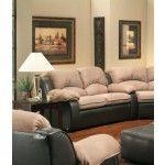 $599.00  Chelsea Home Furniture - Verona Walter Room Shot ElPaso Mocha Loveseat - 3201-L
