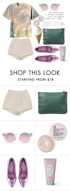 """Cloudy day"" by amoiblog ❤ liked on Polyvore featuring Kenzo, Madewell, The Body Shop, H&M and PENHALIGON'S"