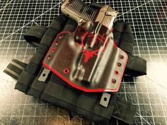 Thigh Rigs/Molle Compatible Holsters Molle Attachments, Custom Holsters, Riga, Thighs, Belt, Belts, Thigh, Stockings