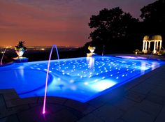 Upgrade Your Pool with these Incredible Features   Lights, Backyard on deck post lighting ideas, pool deck skirting ideas, outside deck lighting ideas, solar deck lighting ideas, pool cage lighting ideas, pool deck coatings ideas, pool gazebos ideas, pool deck renovation ideas, garden walkway lighting ideas, pool decks and patios, under deck lighting ideas, wood deck lighting ideas, pool enclosure lighting ideas, outdoor pool lighting ideas, front entry lighting ideas, boat deck lighting ideas, pool deck edging ideas, gym lighting ideas, pool stairs ideas, deck step lighting ideas,