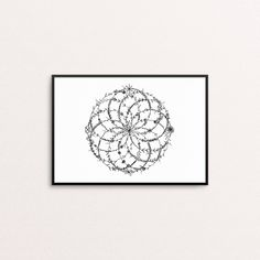 Excited to share the latest addition to my #etsy shop: Torus Print | Art Prints | Geometric Art | Sacred Geometry | Ancient Symbols | Mathematical Art