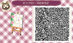 Animal Crossing New Leaf QR Code kirschblüten weg