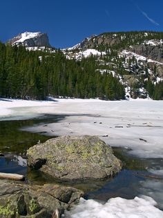 Bear Lake, Rocky Mountain National Park, Estes Park, Colorado