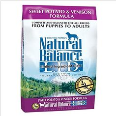 Natural Balance LID Limited Grain free dog food No artificial flavors colors or preservatives Ingredient Diets Sweet Potato  Venison Formula Dry Dog Food 26Pound ** You can get more details by clicking on the image.