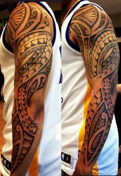 Bildergebnis für tatuagens maori no braço Maori Tattoos, Tatau Tattoo, Polynesian Tribal Tattoos, Filipino Tattoos, Maori Tattoo Designs, Tribal Sleeve Tattoos, Marquesan Tattoos, Samoan Tattoo, Arm Tattoo