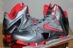 4a8fa5b1af88 Nike LeBron 11 Elite - Wolf Grey - Crimson - Cool Grey - Black -  SneakerNews.com