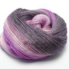 Gradient BFL / Silk Yarn