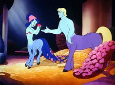 disney fantasia photo - scene from the Beethoven pastoral symphony