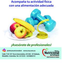 Frases de motivación, superación personal, temas de salud. Clínica Nutricional de Antioquia www.cna.com.co  #alimentacionsaludable #dietas #vidasaludable Frases, Self Improvement, Physical Activities, Food Items