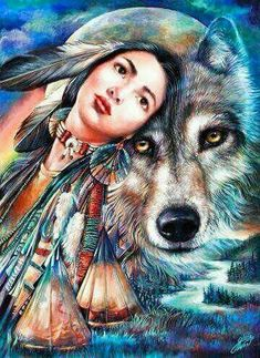 Lobos!!! Maravillosa criatura de la naturaleza..Amantes de la luna...Salvajes, libres y misteriosos...Símbolo de algunas culturas indígenas... wolf <3