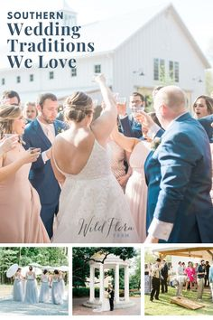 Down in the South, they're ALL about tradition. And even if you don't live below the Mason-Dixon, planning a wedding is pretty much the perfect excuse to bring out your inner Southern Belle. The Barn of Chapel Hill is chatting about some of the best wedding traditions the South has to offer. Farm Wedding, Diy Wedding, Wedding Venues, Wedding Ideas, Southern Weddings, Southern Belle, Flora Farms, Chapel Hill, Groom And Groomsmen