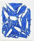 Simon Hantai Tabula, 1980 acrylic paint on canvas 44 3/4 x 38 inches 113.7 x 96.5 cm PK 17368