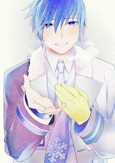 kaito-Snowman I love this song! Kaito Shion, Vocaloid Kaito, Mikuo, Black Rock Shooter, Anime Guys, Cool Art, Kawaii, Artist, Pictures