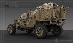 Military buggy v2, Darius Kalinauskas