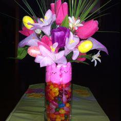 Easter centerpiece I made today-Contina