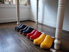 Ugglebo Classic Swedish Clogs: Feel good shoes. Made in Sweden with leather uppers and wood soles. $100  #Clogs #Ugglebo