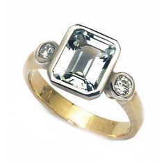 18ct Aquamarine & Diamond Ring. gerrim.com Wedding Rings, Engagement Rings, Diamond, Jewelry, Enagement Rings, Jewlery, Jewerly, Schmuck, Diamonds