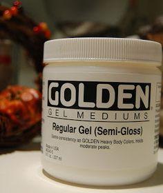 WM[squared] Designs: A Little Hybrid Tip: Gel Medium