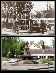 Kaiserslautern einst und heute - Albrechtbrunnen