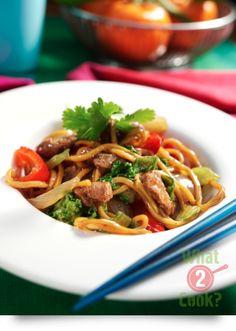 Chilli & Garlic Stir-Fry with Hokkien Noodles