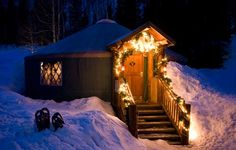 Utah Sleigh Rides: The Viking Yurt
