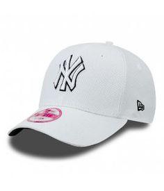 Casquette Femme New Era Diamond NY Yankees Blanc 940