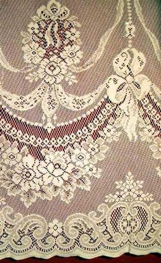 LACE CURTAINS MADE IN THE U.S. - KEELEY