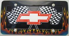 "1 , Bowtie Metal Sign, "" ,CHEVY, RED, BOW TIE, on, CHECKERED FLAGS, "", Metal Sign, on a, Metal, Flames, Frame,,25A5.0&29B2.4,,,SHIPPED USPS,,,,,,,,, ASTRODEALS,http://www.amazon.com/dp/B00HXJQY42/ref=cm_sw_r_pi_dp_ydQ9sb0G42F2R4GJ"