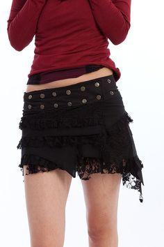 Elf skirt psytrance skirt PIXIE SKIRT goa Skirt by GekkoBoHotique, £41.99