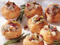 Gorgonzola & Rosemary Cream Puffs