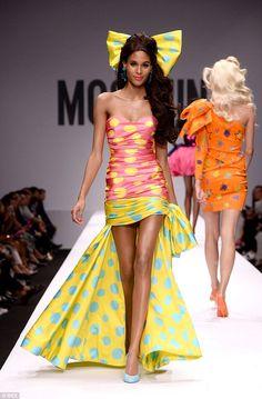 Jeremy Scott gives Barbie a high fashion makeover