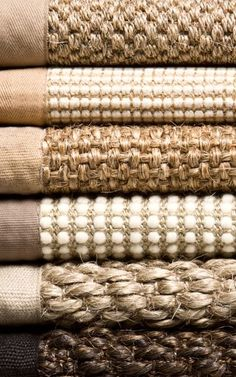 LOVE! ... Sisal! Seagrass! Natural fibers... would love to carpet our bedrooms in this... perfect for allergy sufferers!