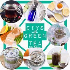 11 BEAUTY DIYs with GREEN TEA #2017forthewin #Beauty #Musely #Tip Healthy Skin, Diy Beauty, Health And Beauty, Diys, Bricolage, Do It Yourself, Diy, Diy Makeup