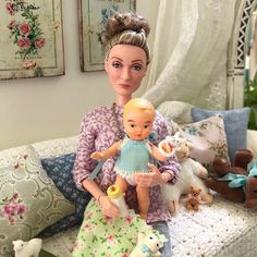 I fell in love with this doll the moment I saw her! She's Mattel's new Professor Minerva McGonagall from the Harry Potter line of playscale… Barbie Summer, Barbie Kids, Barbie Family, Pink Barbie, Barbie Dolls, Barbie Collection, My Collection, Harry Potter Lines, Four Kids