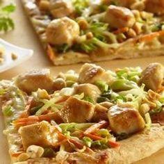 Saute Express® Saute Starter Thai Chicken Pizza