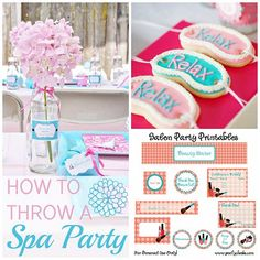 "How to Throw a Fabulous, Kid's ""Spa Party"" 