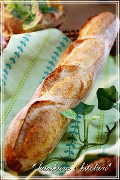 簡単♫気軽にフランスパン