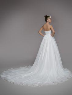 Vestido de Novia de Blancary (Blancary Valentina), corte princesa, escote…