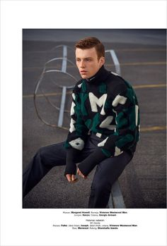 Jake Shortall for Harper's Bazaar Man Indonesia by Iakovos Kalaitzakis