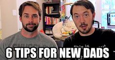 Need some tips for new dads? How about 6 of them in this short video!