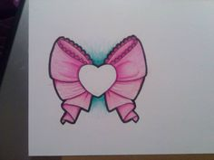 sailor moon tattoo designs | sailor moon style bow tattoo design by Miss-Ag