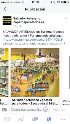 SALVADOR ARTESANO en Turinea. Conoce nuestra oferta de #Turismo Industrial aquí: http://www.turinea.com/es/cu/247-1706/3-salvador-artesano-zapatos-para-todos.html