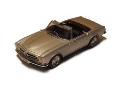 RBA Collectables 1:43 Mercedes Benz 230 Diecast Model Car RBACI17 This Mercedes Benz 230 SL Convertible Diecast Model Car is Silver and has working wheels and also comes in a display case. It is made by RBA Collectables and is 1:43 scale (approx. 10cm / 3.9in long). #RBACollectables #ModelCar #MercedesBenz