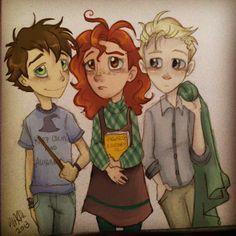 Rose, Albus, Scorpius <3